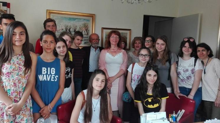 Младежката секция на Клуб ЮНЕСКО Леонардо да Винчи отбеляза 24 май в Италия